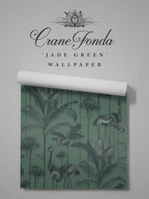 Load image into Gallery viewer, Crane Fonda 'Jade Green' Sample