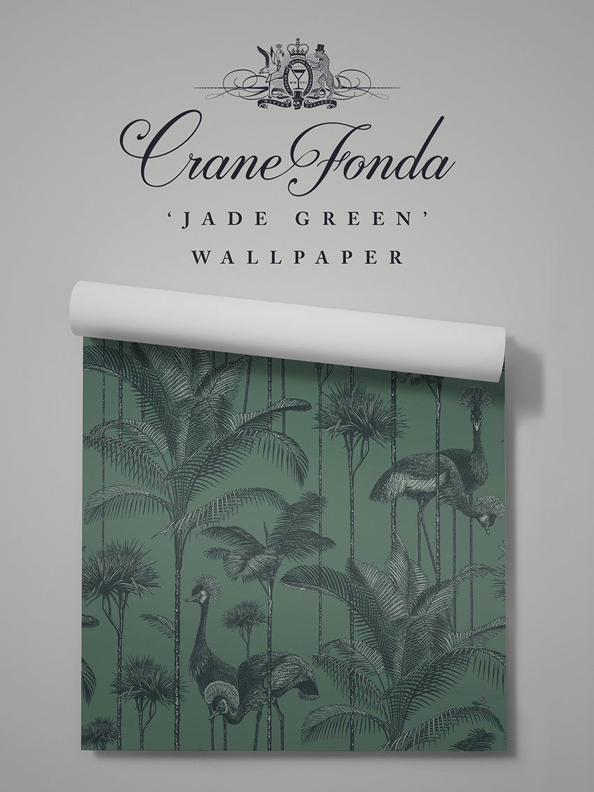 Crane Fonda 'Jade Green' Sample