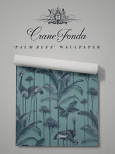 Load image into Gallery viewer, Crane Fonda 'Palm Blue'