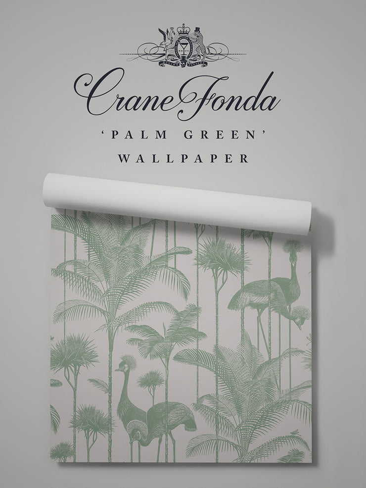 Crane Fonda 'Palm Green' Sample
