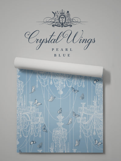 Crystal Wings 'Pearl Blue' Sample