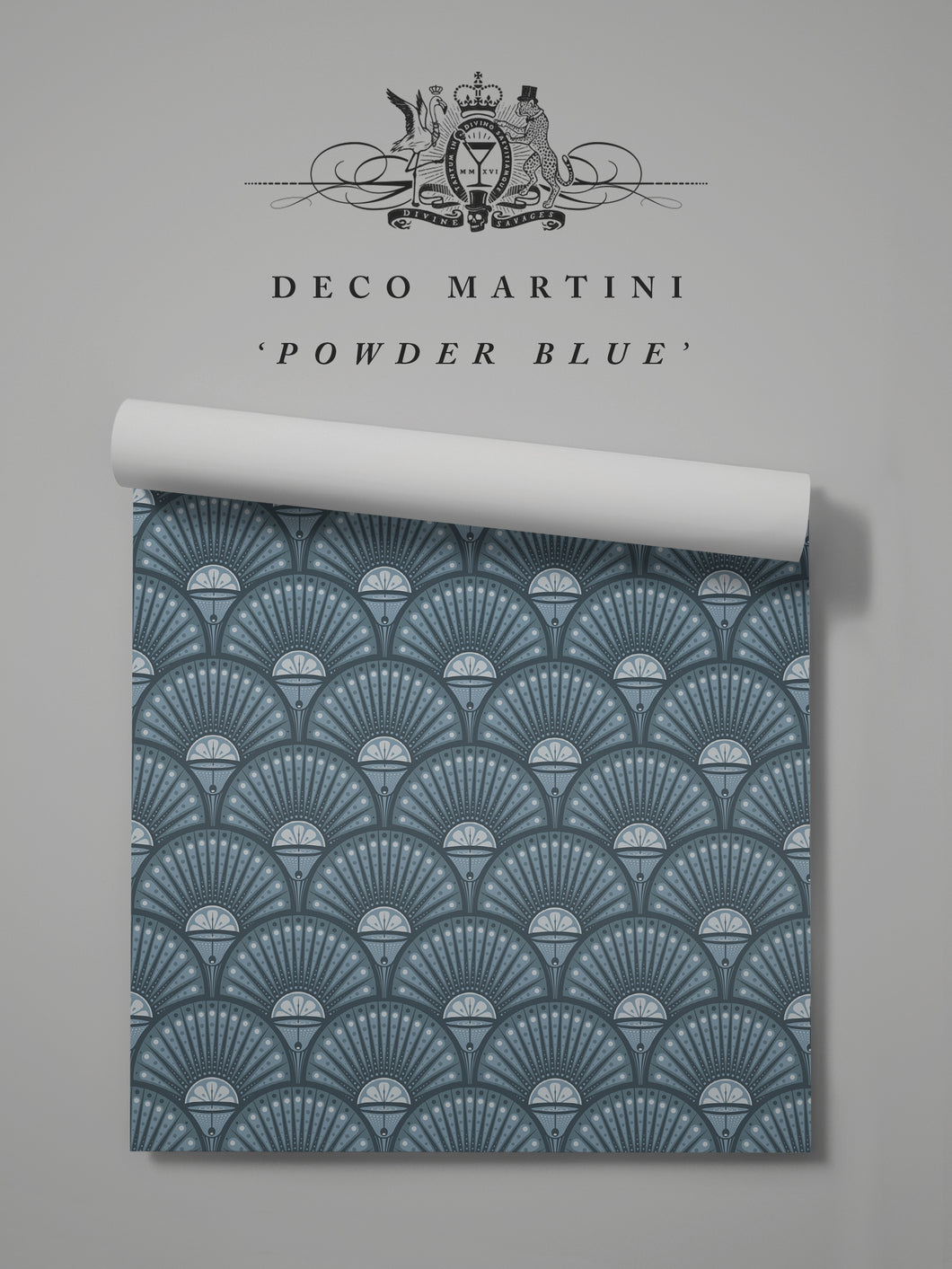 Deco Martini 'Powder Blue' Sample