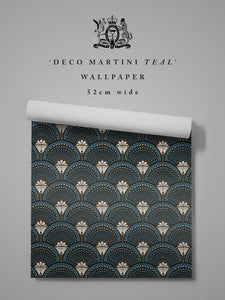 Deco Martini 'Teal'