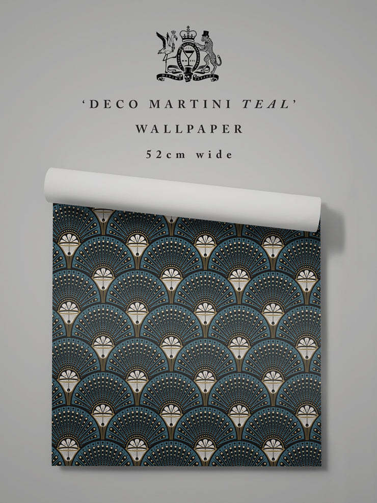 Deco Martini 'Teal' Sample