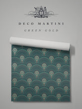 Load image into Gallery viewer, Deco Martini 'Green Gold'