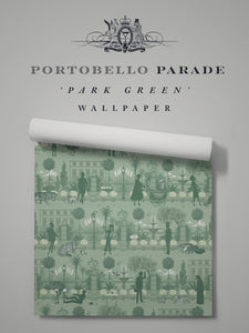 Portobello Parade 'Park Green' Sample