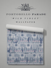 Load image into Gallery viewer, Portobello Parade 'Wild Violet' Sample
