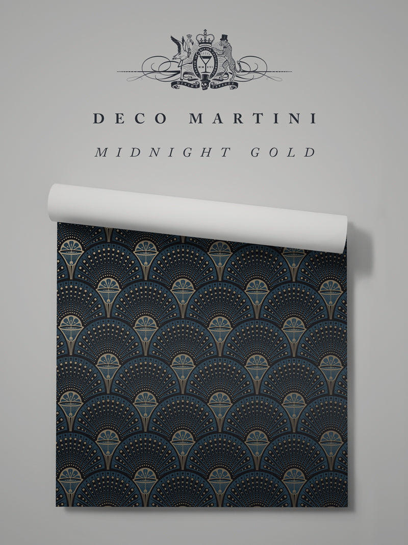 Deco Martini 'Midnight Gold' Sample