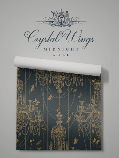 Crystal Wings 'Midnight Gold' Sample