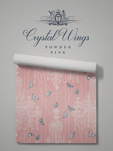 Crystal Wings 'Powder Pink' Sample
