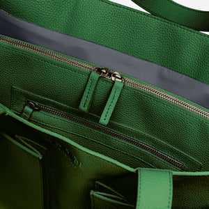 Fields Tote - Rainforest Green