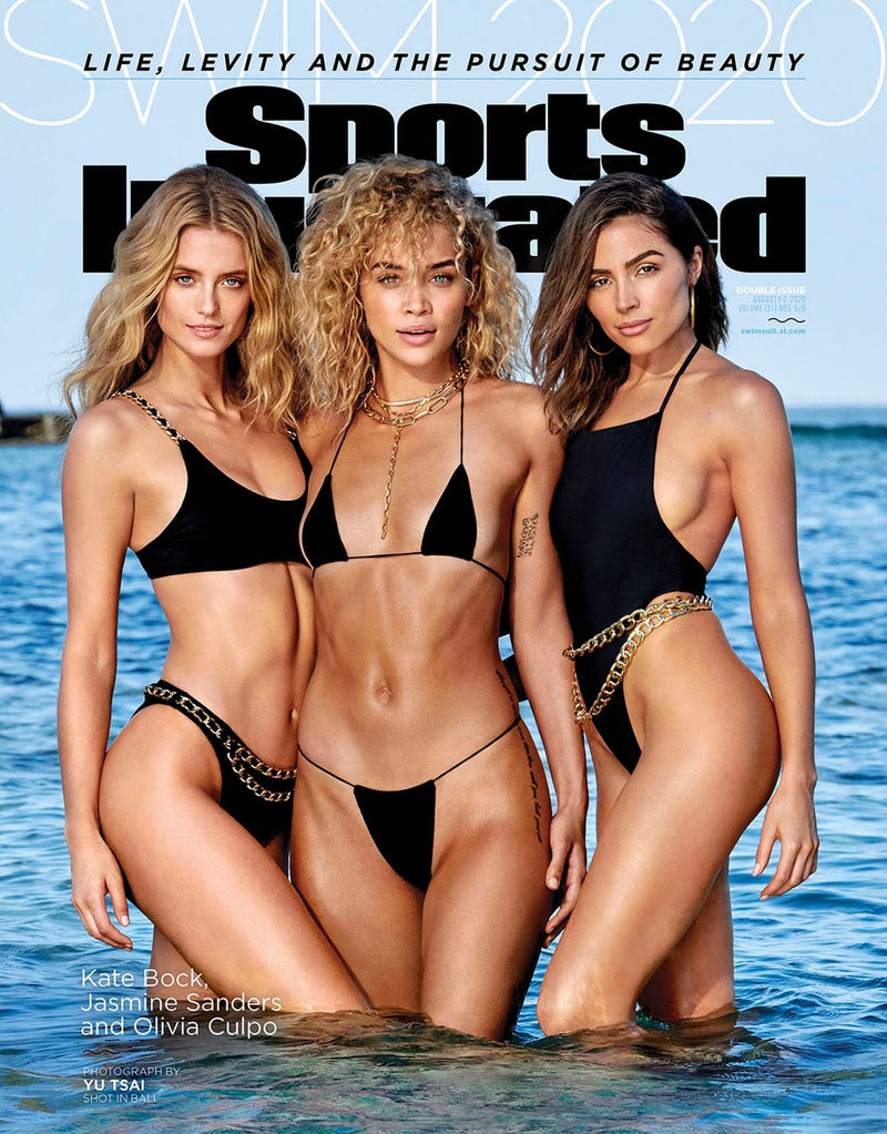 Andi Bagus featured on SI SWIM 2020 cover!