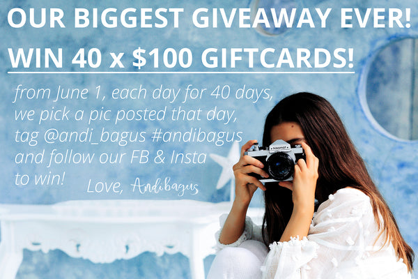 andi bagus giveaway competition