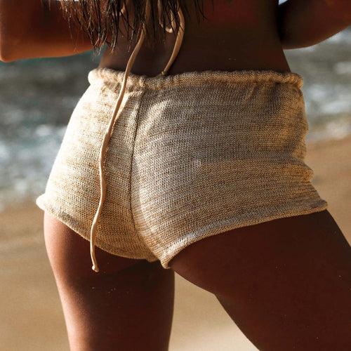 Malibu Knit Cheeky Shorts