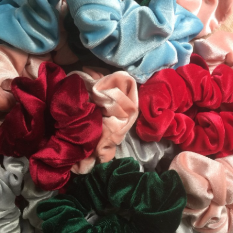 Dangerous Velour Scrunchie
