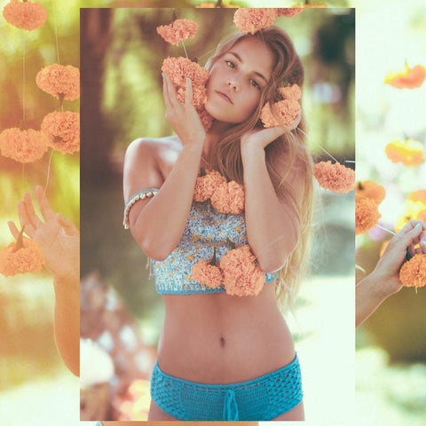 Blooms Crop Top