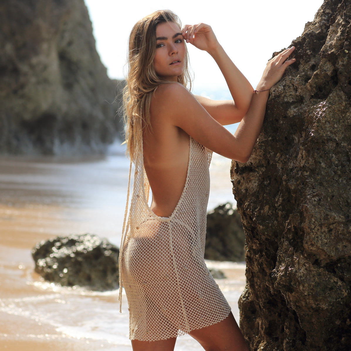 Castaway Mesh Dress