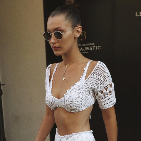 Daisy Chain Tube Top