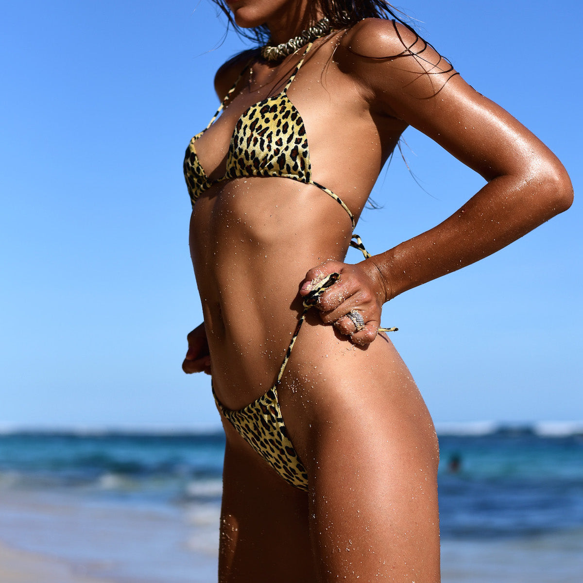 Dangerous Animal Print Bikini