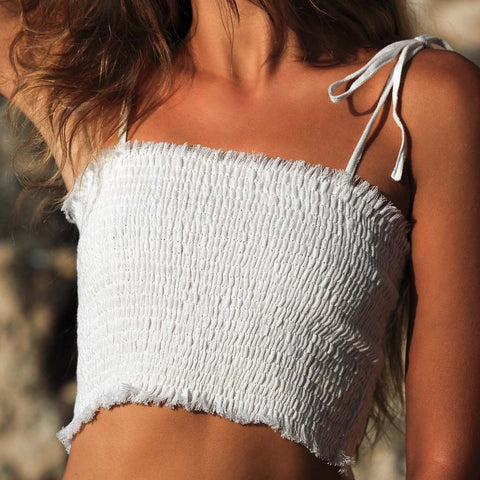 Palm Springs Bandeau Top