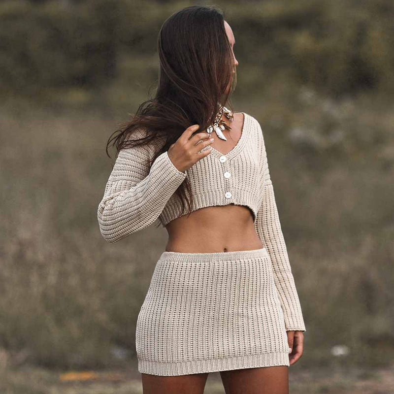 Kendall Knit Mini Skirt