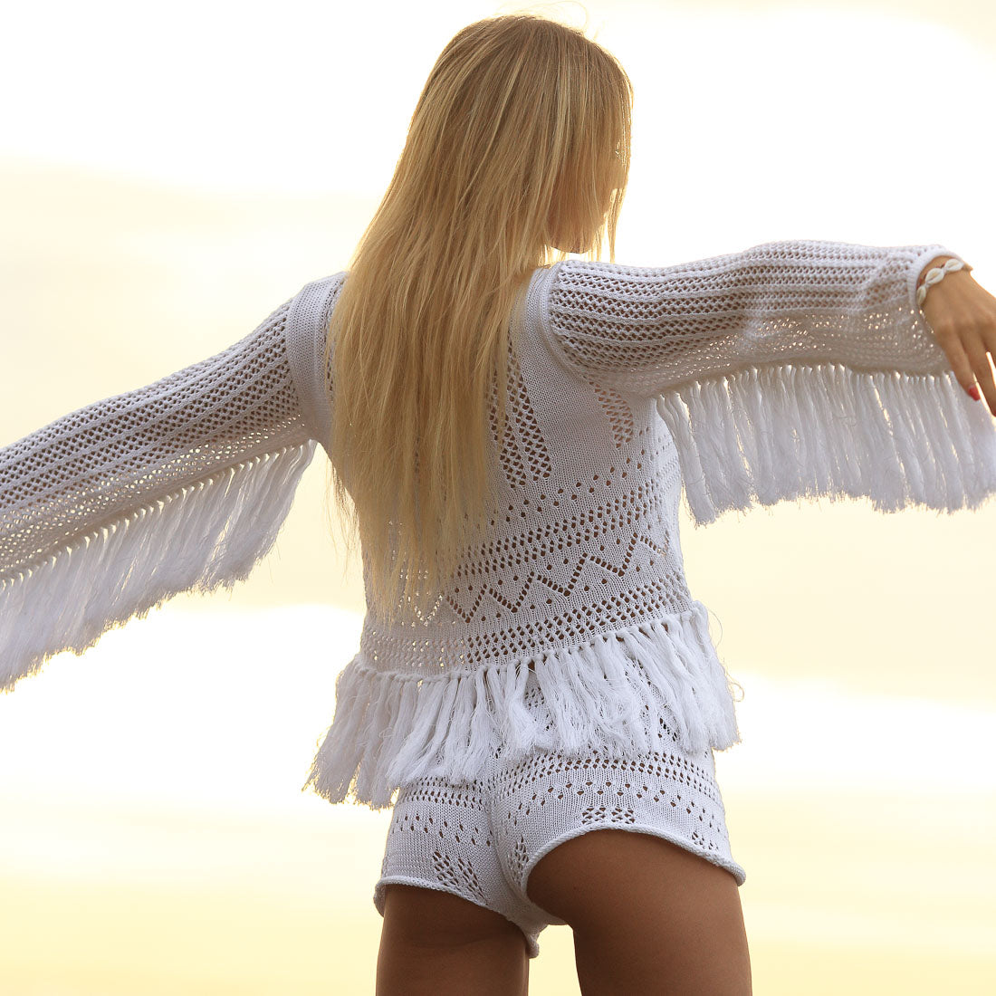Splendour Fringed Jumper