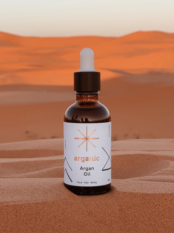organic arena oil holiday beauty