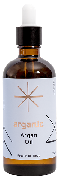 Image of our Organic Argan Oil for Hair, Skin & Face