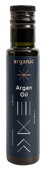 Image of our Culinary Argan Oil, perfect for cooking with or drizzling over a salad