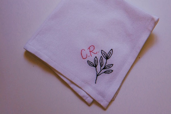 DIY Embroidery: Embroider Your Own Hanky