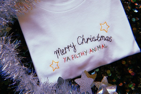 Christmas T-Shirt Embroidery