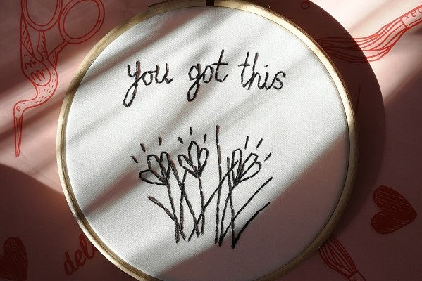 hand embroidery for beginners tutorial