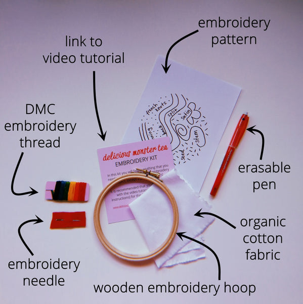 embroidery stitch sampler hand embroidery for beginners diy craft kit for adults 9
