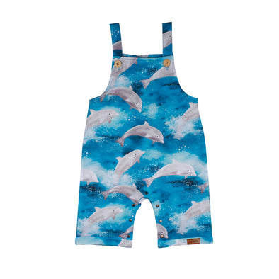 Walkiddy Happy Dolphins Short Playsuit