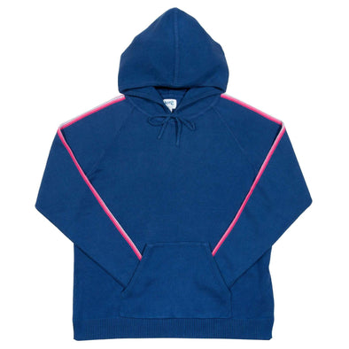 Kite Navy Hinton Knit Hoodie- Adult