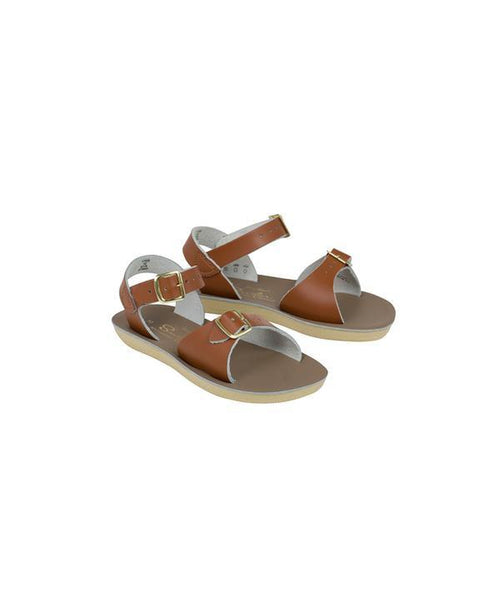 Salt-Water Sandals Surfer Tan - child