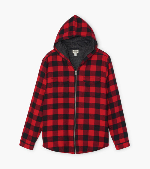 Hatley Little Blue House Men's Buffalo Plaid Heritage Flannel Jacket