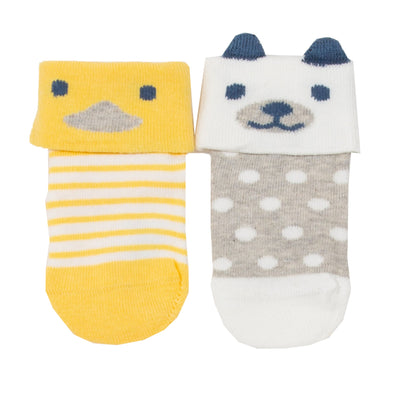 Kite Pup and Duck Socks 2-Pack
