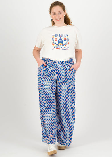 Blutsgeschwister Tulip Tulburg Lady Flatterby High Waisted Trousers