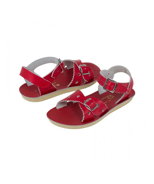 Salt-Water Sandals Sweetheart Red - child