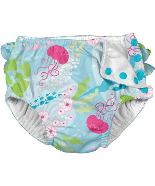 iPlay Aqua Coral Reef Reusable Swim Nappy