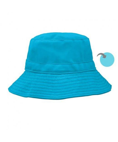 iPlay Aqua / Light Aqua Organic Cotton Bucket Sun Hat