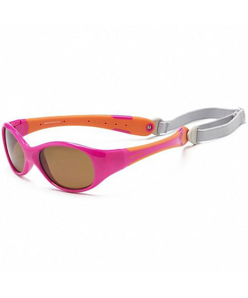 Koolsun Sunglasses - Flex - Hot Pink / Orange