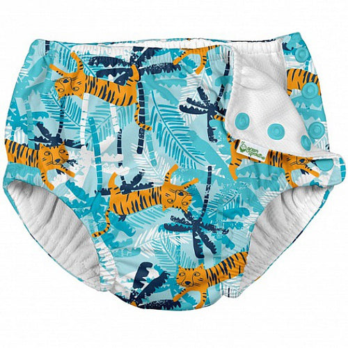 iPlay Aqua Tiger Reusable Swim Nappy