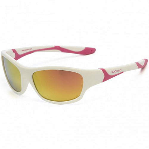 Koolsun Sunglasses - Sport - White Hot Pink