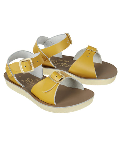 Salt-Water Sandals Surfer Mustard - child