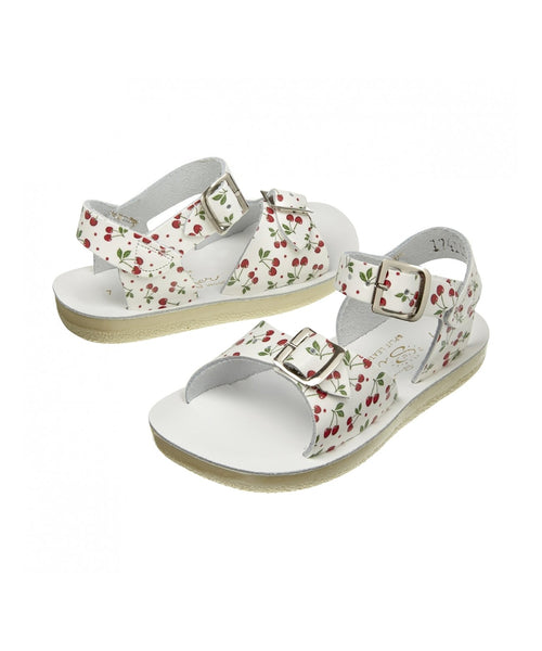 Salt-Water Sandals Surfer Cherry - child