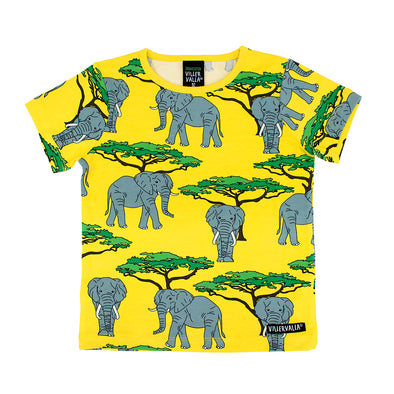 Villervalla Elephant Short Sleeved T-shirt