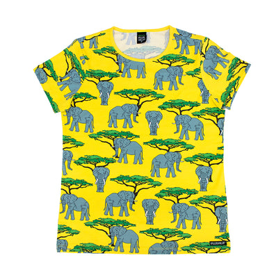 Villervalla Adult Elephant Short Sleeved T-Shirt