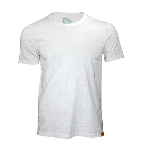 Tonn Men's Plain T-Shirt White